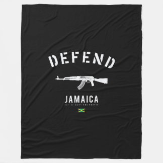 DEFEND JAMAICA BLANKET