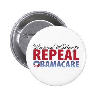 Defend Liberty Repeal Health Care Pins