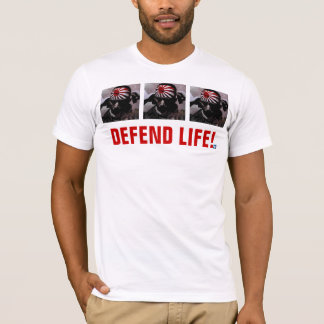 DEFEND LIFE!  Kamikaze II Edition T-Shirt