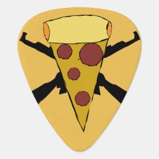 Defend Pop Punk Pizza Plectrum
