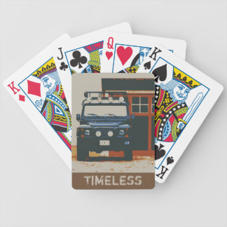 DEFENDER 90 - TIMELESS BICYCLE PLAYING CARDS