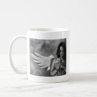 Defender Angel  Girl Sword Coffee Mug