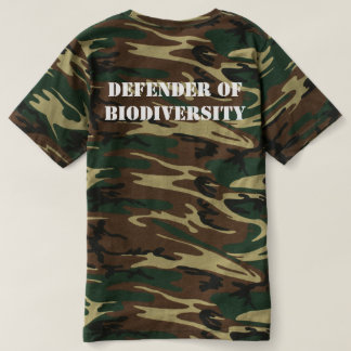 Defender of Biodiversity Camo T-shirt