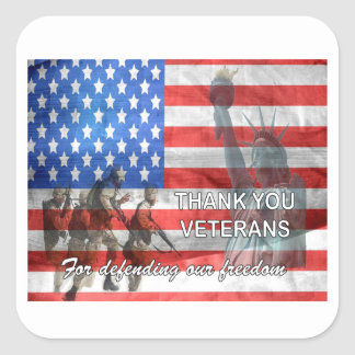 Defending Freedom Veterans Day Stickers