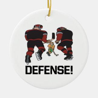 Defense Ceramic Ornament