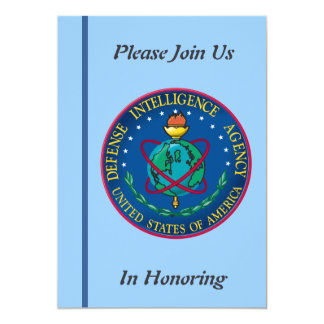 Defense Intelligence Agency Retirement Invitation
