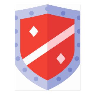 Defense Shield Postcard