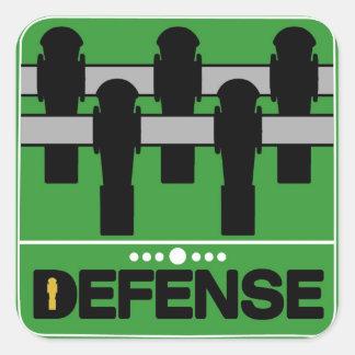 DEFENSE SQUARE STICKER