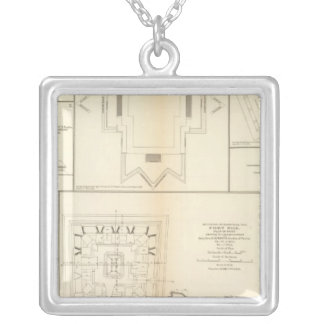 Defenses Chattanooga, Nashville Silver Plated Necklace