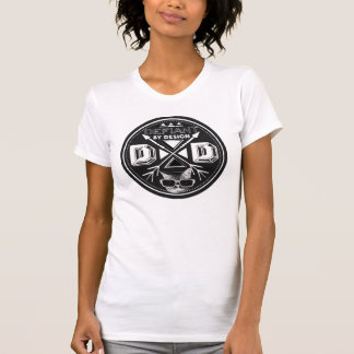Defiant By Design logo women's tshirt