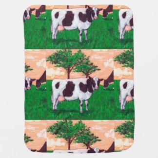 Defiant Dairy Cow Pramblanket
