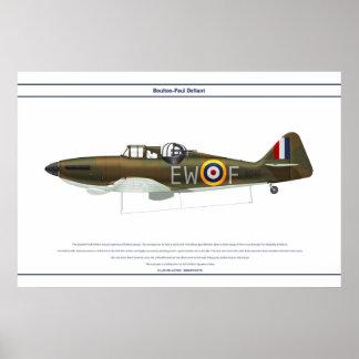 Defiant Mk I 307 Sqn 1 Posters