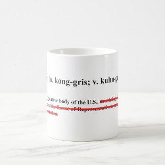 Define: Congress Classic White Coffee Mug