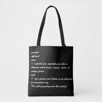 Define Fangirl Tote Bag