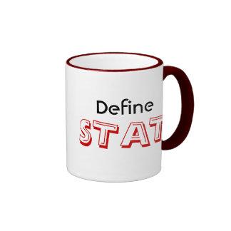 Define STAT Ringer Mug