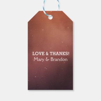 Definitely Fate Universe Nebula Wedding Gift Tags
