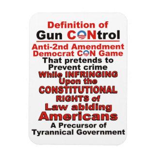 Definition of Gun CONtrol Magnet forTrue Americans
