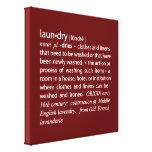 Definition of Laundry Crisp Red & White