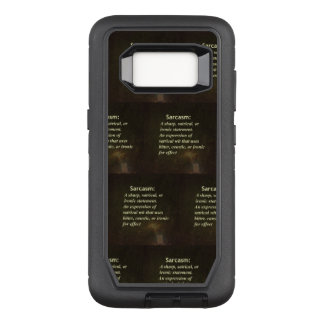Definition of Sarcasm OtterBox Defender Samsung Galaxy S8 Case