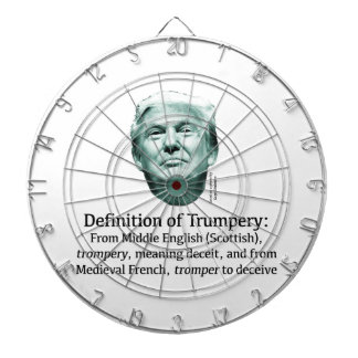 Definition of Trumpery Dartboard