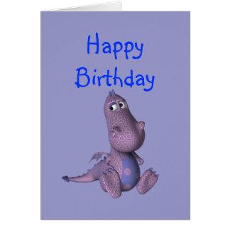Defo the  birthday Dragon Card