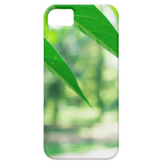 Defocused and blurred branch ailanthus case for the iPhone 5