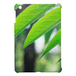 Defocused and blurred branch ailanthus iPad mini covers