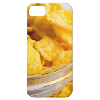 Defocused and blurred image of dry corn flakes iPhone 5 cover