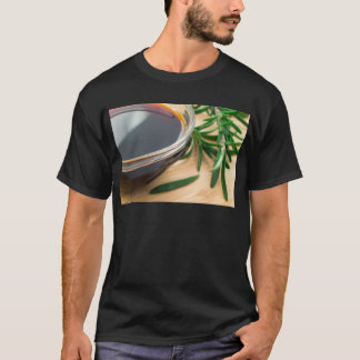 Defocused and blurred image of soy sauce T-Shirt