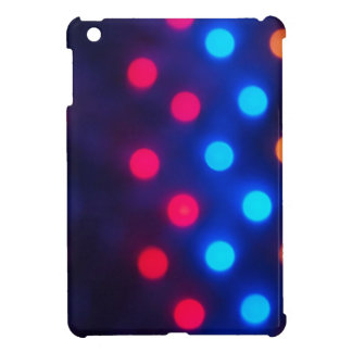 Defocused colored lights out of focus cover for the iPad mini