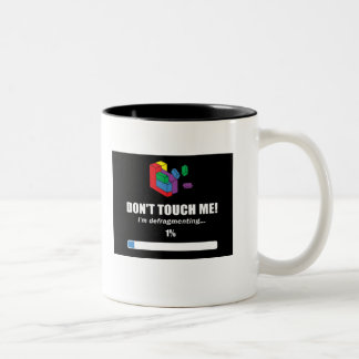 Defragment Two-Tone Coffee Mug