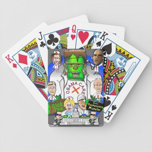 Defund Obama Care Poker Deck