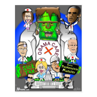 Defund Obama Care Post Card