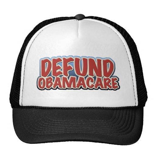 Defund Obamacare Mesh Hat