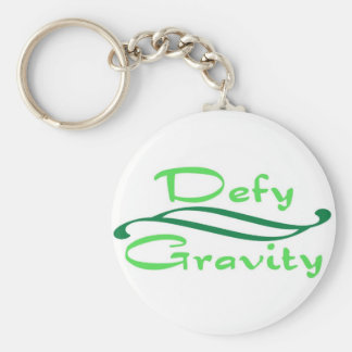 Defy Gravity Key Ring
