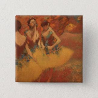 Degas Art 15 Cm Square Badge