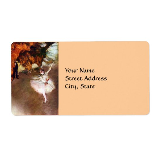 Degas: Ballerina address labels