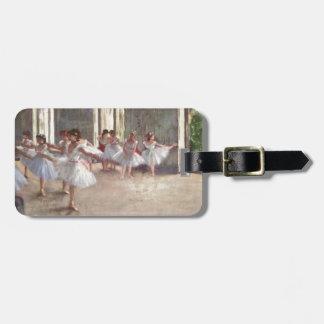 Degas Ballet Dancers Luggage Tag