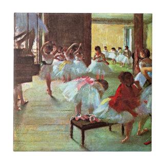 Degas - Ballet School Tile