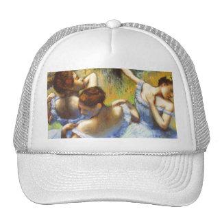Degas Blue Dancers Hat