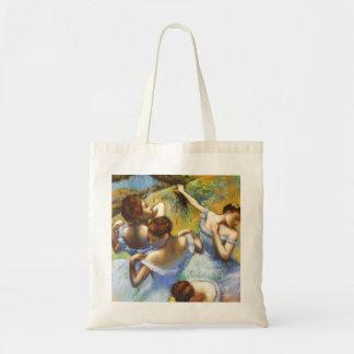 Degas Blue Dancers Tote Bag