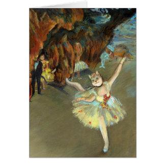 Degas' Cat Card