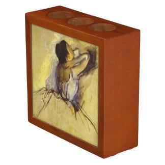 Degas Dancer in Yellow Fine Art Pencil/Pen Holder