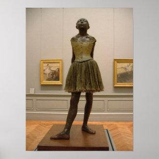 Degas Dancer Sculpture Poster