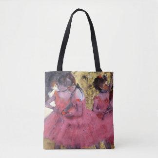 Degas Dancers in Pink Between Scenes Tote Bag
