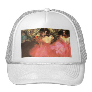 Degas Dancers in Pink Hat