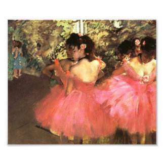 Degas Dancers in Pink Photo Print