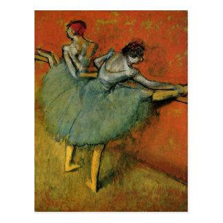 Degas, Edgar Germain Hilaire T?nzerinnen an der St Postcard