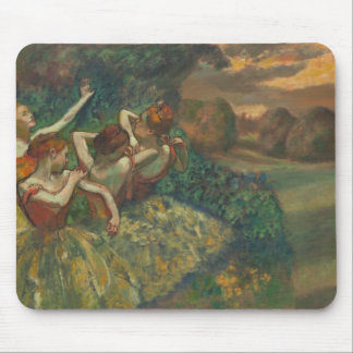 Degas' Four Dancers Masterpiece Gallery Painting Mouse Pad