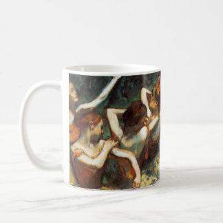 Degas Four Dancers Mug